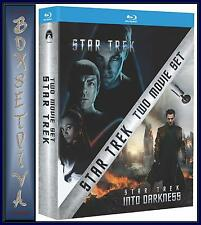 STAR TREK/STAR TREK INTO DARKNESS  *** BRAND NEW BLU-RAY ** REGION FREE **