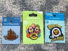 Tokyo Disney Resort Pin 2008 Bon Fire Dance Water Please! 2012 Easter Wonderland