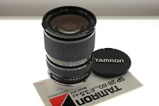 Tamron SP 28-80mm f/3.5-4.2 CF Macro zoom lens in Nikon F mount. EXC+ condition
