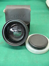 Sony wide conversion lens x0.7 VCL-0746A made in Japan