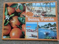 INTERNATIONAL.POSTCARD.SUNNY FLORIDA..POSTED 20.8.1986.STAMP 33c