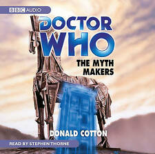 Doctor Who  - The Myth Makers by Donald Cotton (CD-Audio, 2008) NEW SEALED