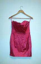 Satin Cocktail Peplum Dresses for Women