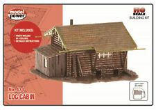 Model Power Log Cabin Building Kit HO Scale - Free Shipping