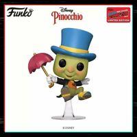 Funko Pop Vinyl Jiminy Cricket #980 Pinocchio NYCC 2020 Shared Sticker PRE ORDER