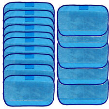 15x Microfiber Mopping Cloth for iRobot Braava 380t 320 Mint 4200 5200 4205 Blue