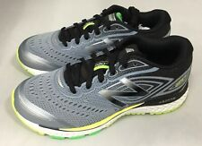 New Balance 880V7 KJ880BSY Grey with Black & Lime Kids Running Shoes Size 3.5