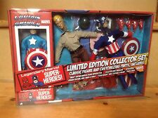 Marvel Retro Mego Action Figure Captain America Ltd Edition Collector Set *New*