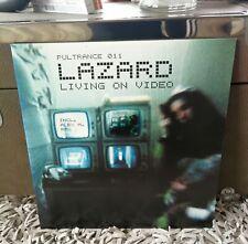 "LAZARD - Living On Video - Limited 12"" Vinyl incl. Alex M. Remix -> NEW + RAR!"