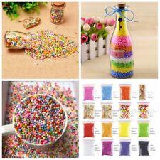 15 Pack DIY Styrofoam Balls for Slime Small Tiny Foam Beads for Floam Filler New