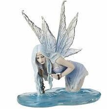 Fishing for Riddles Fairy Statue Ornament Fairies Pixie Figurine Nymph Elf Decor