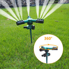 360° Rotating Lawn Sprinkler Automatic Watering System for Garden Hose 2020