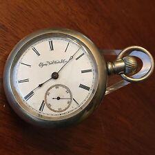1888 Elgin 18 size H.H. Taylor 15j True Train Railroad ADJ Pocket Watch Case