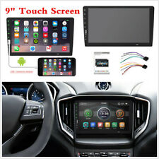 """New listing Hd Touchscreen 1 Din 9"""" Car Stereo Radio Mp5 Fm Player Android/Ios Mirror Link"""