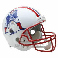 NEW ENGLAND PATRIOTS 90-92 THROWBACK NFL FULL SIZE REPLICA FOOTBALL HELMET