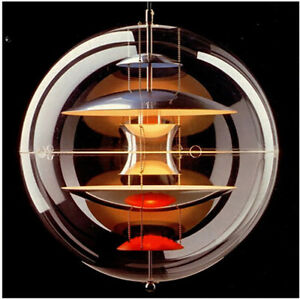Modern Acrylic Globe Pendant Hanging Light Chandelier Room Lamp Chandelier