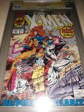 Signed UNCANNY X-MEN 281 CGC SS 9.4 PORTACIO 1ST TREVOR FITZROY New X-Men Team