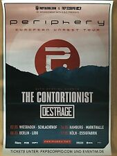 PERIPHERY  2017  TOUR  - orig.Concert Poster -- Konzert Plakat  A1 NEU