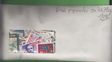 Bund ca. 46,75 g Marken papierlos = dreistellige Anzahl stampsdealer