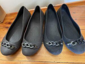 Crocs Womens 7 Flats Work Shoes