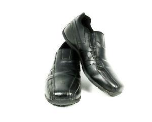 Safe T Step Men's Comfort Casual Shoes Black Oil & Slip Resist Slip On Loafer 14