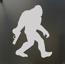 Sasquatch mountain tactical sticker JDM Funny America gun car window decal