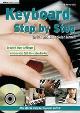 Keyboard Step by Step (+CD) : In 10 Schritten spielend lernen - Meyersick, Haral