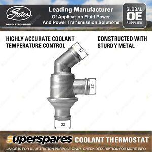 Gates Thermostat Coolant for BMW 1500 2000 2 Ser E10 2000-3.2 E9 3 E21 E30 5 E12