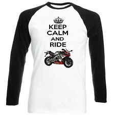 APRILIA SONIC GP 50 INSPIRED KEEP CALM - NEW COTTON TSHIRT - ALL SIZES IN STOCK