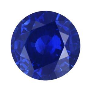 Sapphire Blue Dark Oval 7x5 mm 0,7 Ct Lab Created Loose Gemstone Monosital