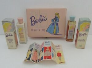 1961 Vintage Rare Barbie Beauty Kit with Rare Contents  Wow !!!!