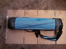 Spalding LightBlue/Gray Golf Bag 4 Way Divider 2 Pockets