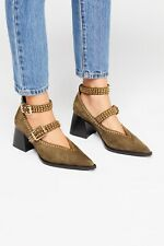 New Free People Walk On By Heel Size 8 MSRP: $250 Suede
