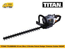 TITAN TTL688HDC 61cm 26cc 2 Stroke Petrol Hedge Trimmer Cutter 5924P