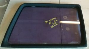 83-91 Mitsubishi Montero Passenger Right Rear Quarter Glass Large Window w Seal
