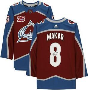Autographed Cale Makar Avalanche Jersey Fanatics Authentic COA Item#11134625