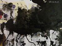 MERRHEIM Morgan  encre sur papier  raw art,  drawing on paper art brut 29/37cm