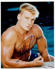 Dolph Lundgren (Rocky) signed authentic 8x10 photo COA