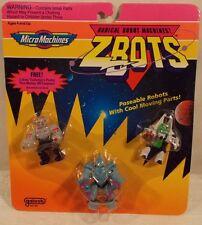 Z-Bots Micro Machines - Protok, Blayde, & Zentek Collector's Robots Galoob MOC