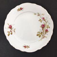 "Pair Vintage W Eschenbach Briar Rose 7.5"" Plates Fine China Bavaria Germany"