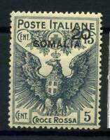 Somalia 1916 Sass. 21 Nuovo * 100% Croce Rossa