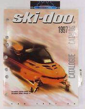 1997 SKI-DOO SKANDIC SUPER WIDE TRACK & WIDE TRACK LC PARTS MANUAL 480 1437 00