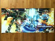 Official Custom Robo Gamecube 2004 Nintendo Power Poster Authentic Promo RARE!