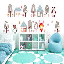 Setas Pared Adhesivo Para Bebé Niños Calcomanía Stencil Art transferencia Gráfico casa