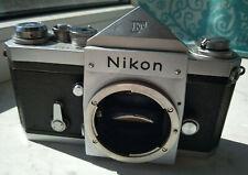 Nikon F Eyelevel prism 35mm SLR Film Camera Body