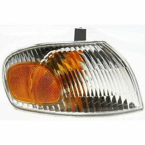 FIT FOR CHEVY PRIZM 1998 1999 2000 2001 2002 CORNER PARK LAMP RIGHT PASSENGER