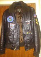 Vietnam era pilot leather jacket G1 model, an real military item