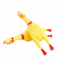 Pets Dog Chew Toy Cute Cat Toy Squeaker Funny Sounding Cock Squeeze Pet Supplies