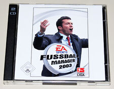Fifa Futbol Manager 2003-PC juego-EA Sports-jewel case