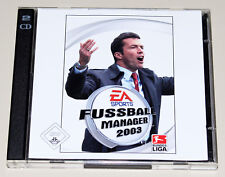 FIFA FUSSBALL MANAGER 2003 - PC SPIEL - EA SPORTS - JEWEL CASE